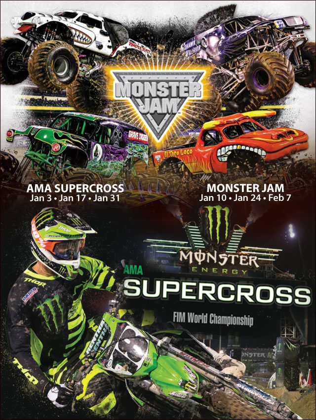 Monster Jam & Supercross discounts with Jiffy Lube ...