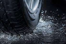 tires rain
