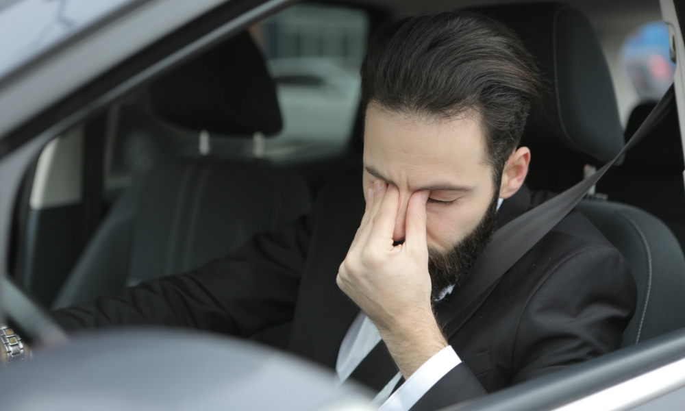 Is Drowsy Driving Just as Dangerous as Drunk Driving?